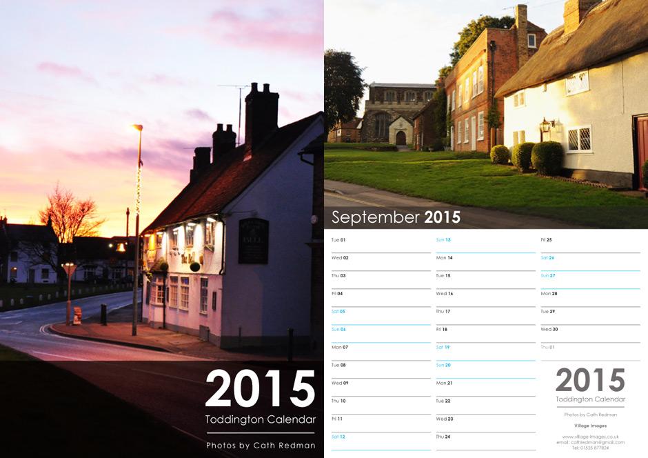 Bespoke Calendar Design 2015 Modred Design