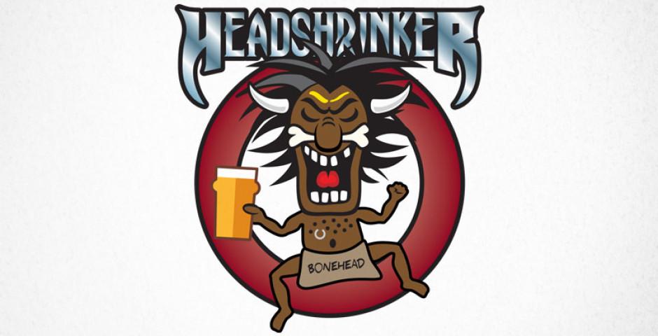 Headshrinker Brewery Logo Design Modred Design