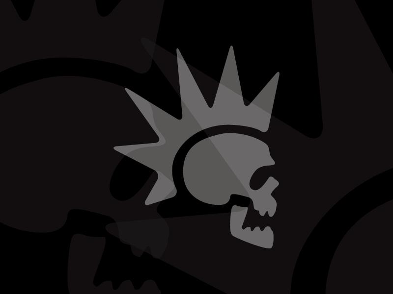 Punk Skull Drawing Modred Design