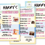 Harrys-Poster-Menu-Design
