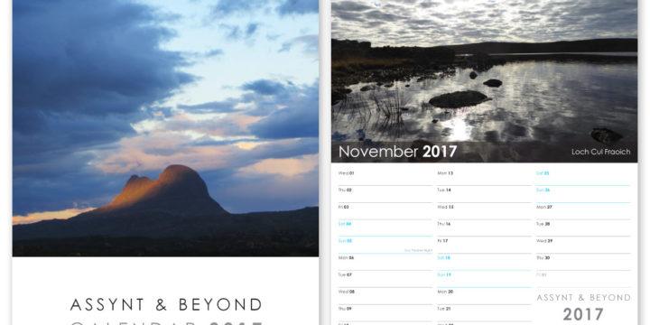 Assynt Calendar Design 2017