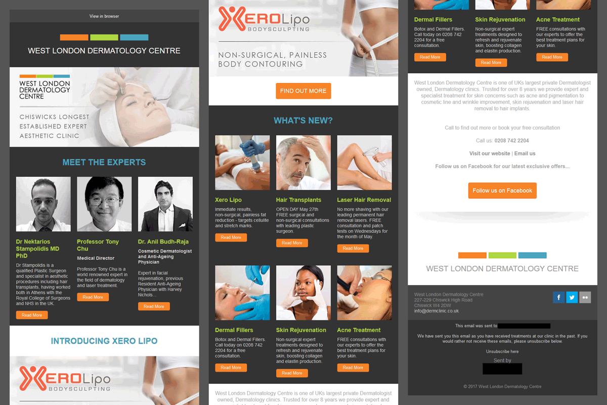clinic-email-design