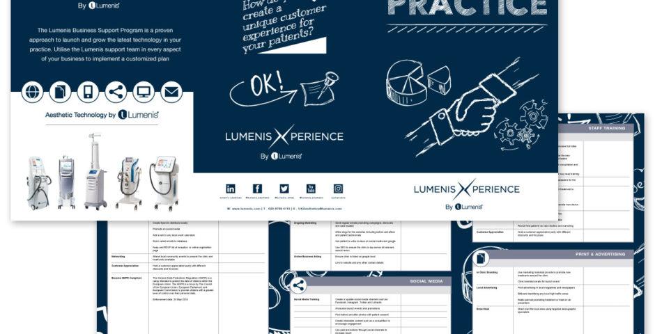successful brochure design - clinic success brochure design modred design