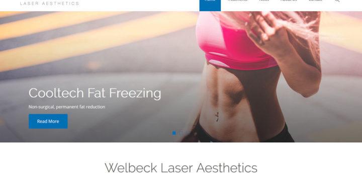 Welbeck Clinic Web Design