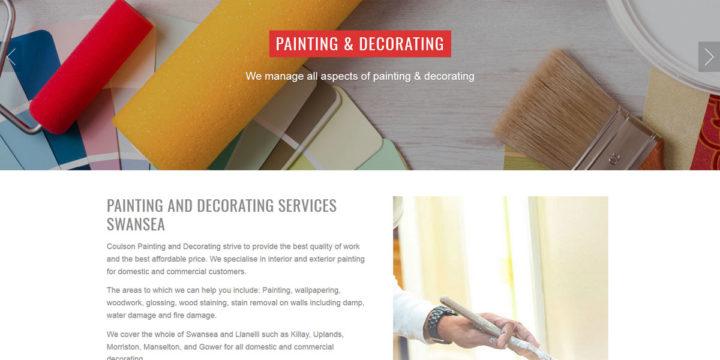 Painting & Decorating Web Design