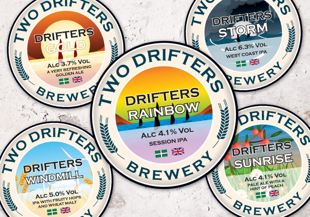 Beer Crest Label Designs