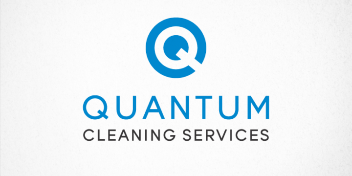 Quantum Cleaning Logo Design