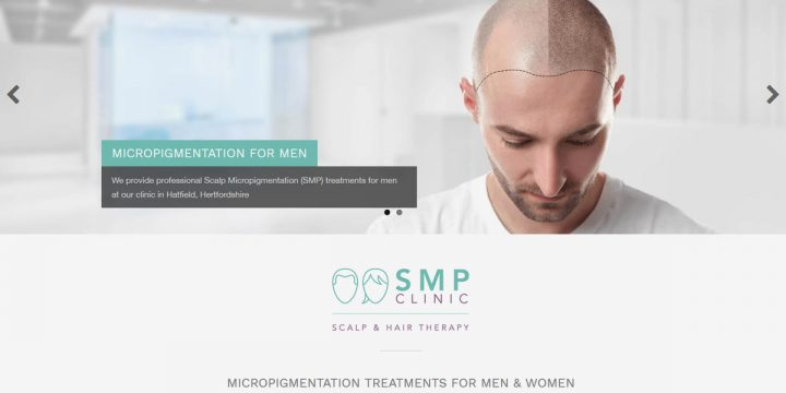 SMP Clinic Logo & Web Design
