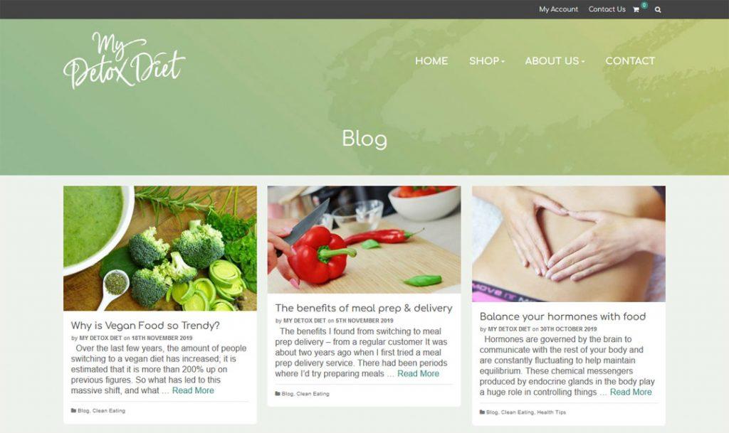 Detox Diet Food Blog