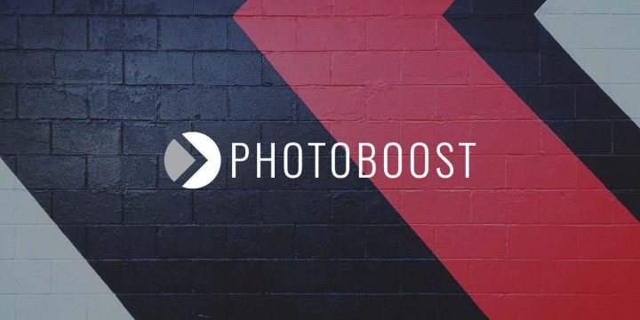 Photoboost Logo & Web Design