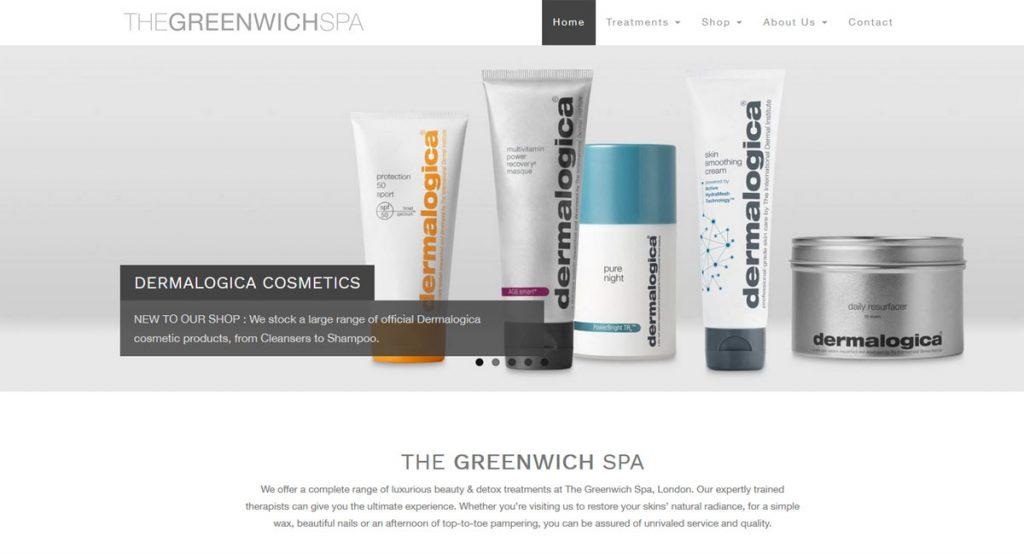The Greenwich Spa Web Design