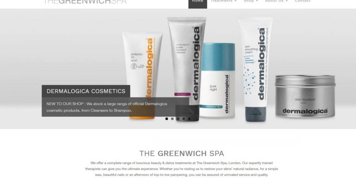 The Greenwich Spa Web Design