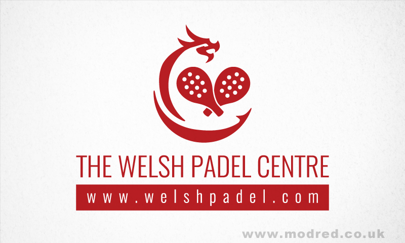 Welsh Padel Centre Logo Design