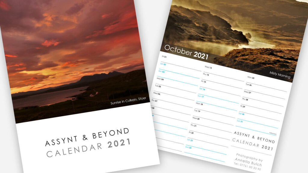2021 Photography Calendar Design