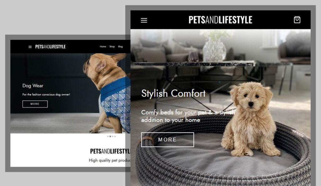 Pets & Lifestyle Logo / Web Design